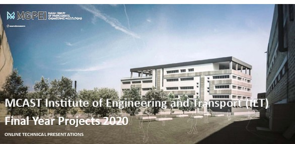 MCAST Institute of Engineering & Transport – Final Year Projects 2020